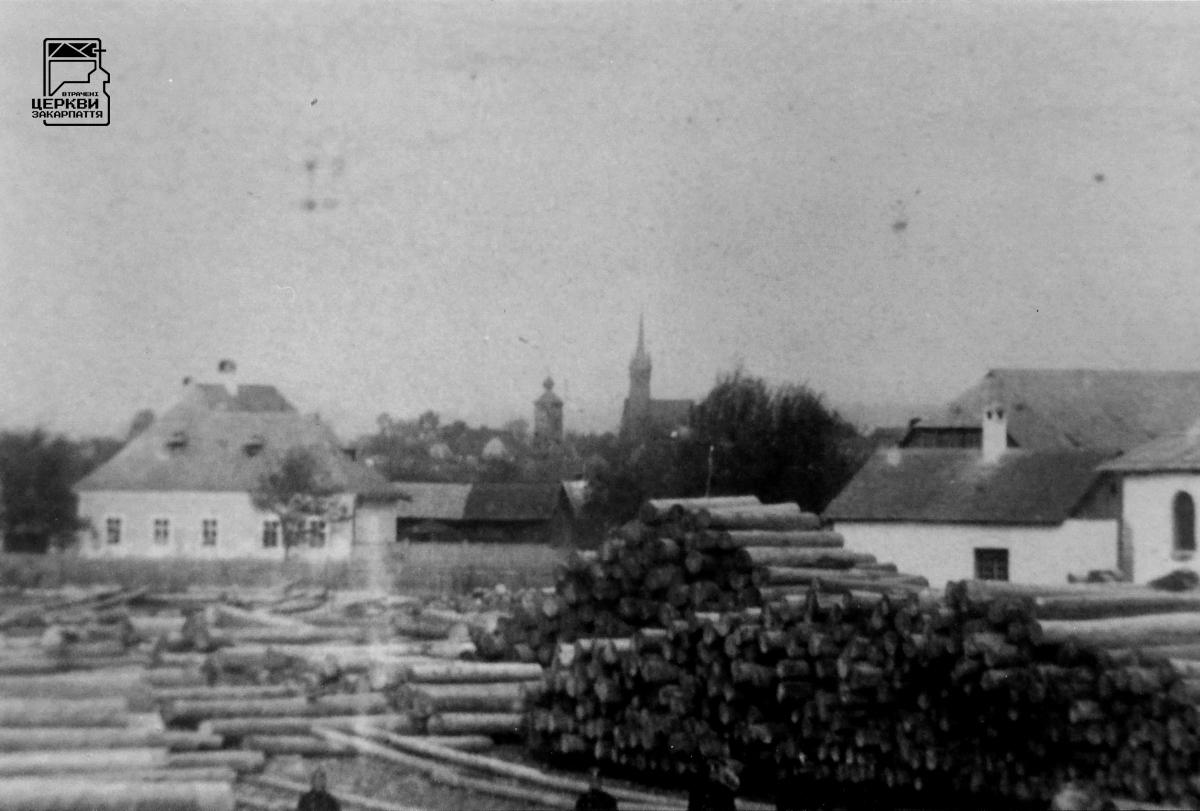 Греко-католицька церква святих апостолів Петра і Павла та дзвіниця, БУШТИНО, село