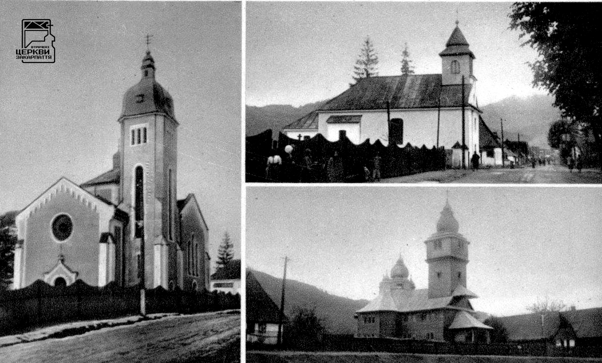 Греко-католицька церква св. арх. Михаїла, ДУБОВЕ, село