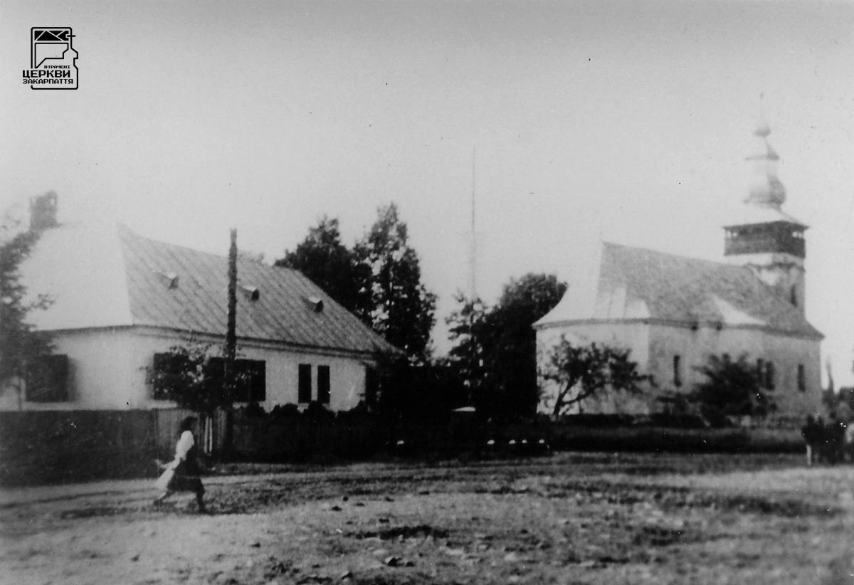 Греко-католицька церква св. Миколая Чудотворця, ТЕРЕБЛЯ, село